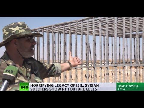 ISIS torture cells for ideological prisoners filmed in Syria
