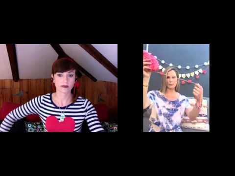 How to make pom pom garland with Tracy Hutson