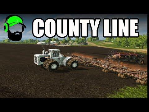 Farming Simulator 17 - County Line- Planting hay grass #FS17