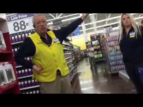 Walmart Manager doesn't want Me sitting on their Pharmacy Dept. chairs