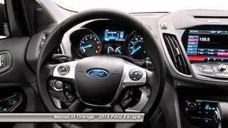 2014 Ford Escape Orange CA CD1374
