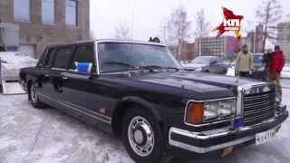 В Екатеринбург приехал бронеавтомобиль Бориса Ельцина