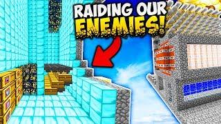 RAIDING OUR BIGGEST ENEMY!! (Minecraft Saicopvp Factions #165)