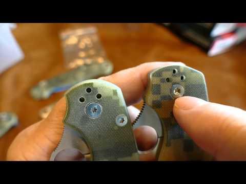 Spyderco Paramilitary 2 Chinese Clone Comparison
