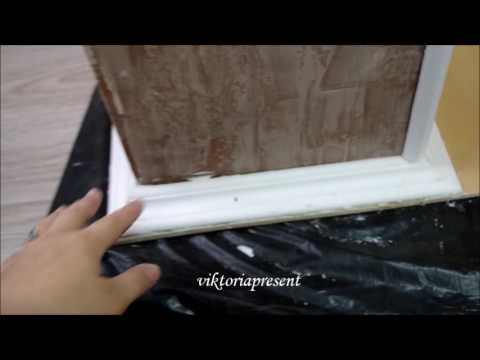 Декорируем фальш- камин