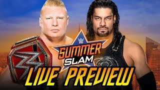 WWE SummerSlam 2018 LIVE Preview
