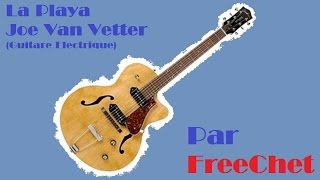 La Playa Joe Van Vetter Guitare Electrique