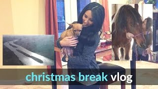 Christmas Break Vlog | Family, Flights, Fun, Horses