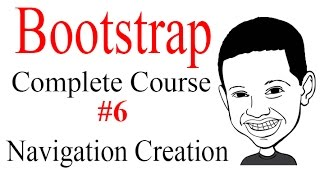 Bootstrap Complete Course #6 CREATING THE NAVIGATION MENU