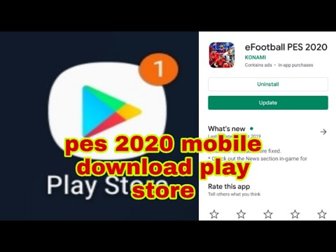 How To Download Efootball Pes 2020 Mobile