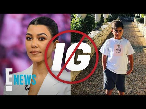 Why Kourtney Kardashian Just Shut Down Mason Disick's Instagram | E! News
