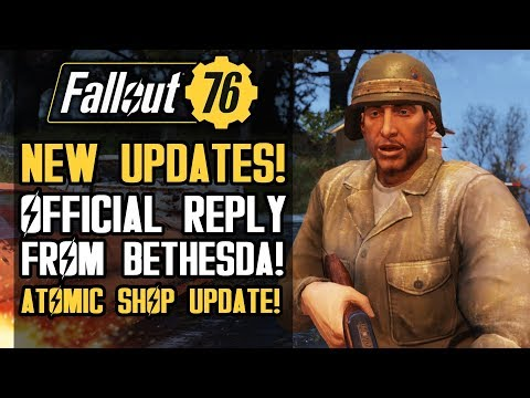 Fallout 76 - New Updates from Bethesda!  New Shop Items and Weekly Challenges! thumbnail