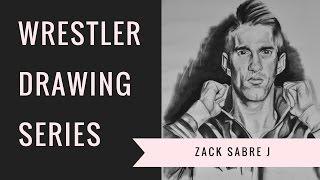 ZACK SABRE JR | WRESTLER DRAWING SERIES | Jordan Smith