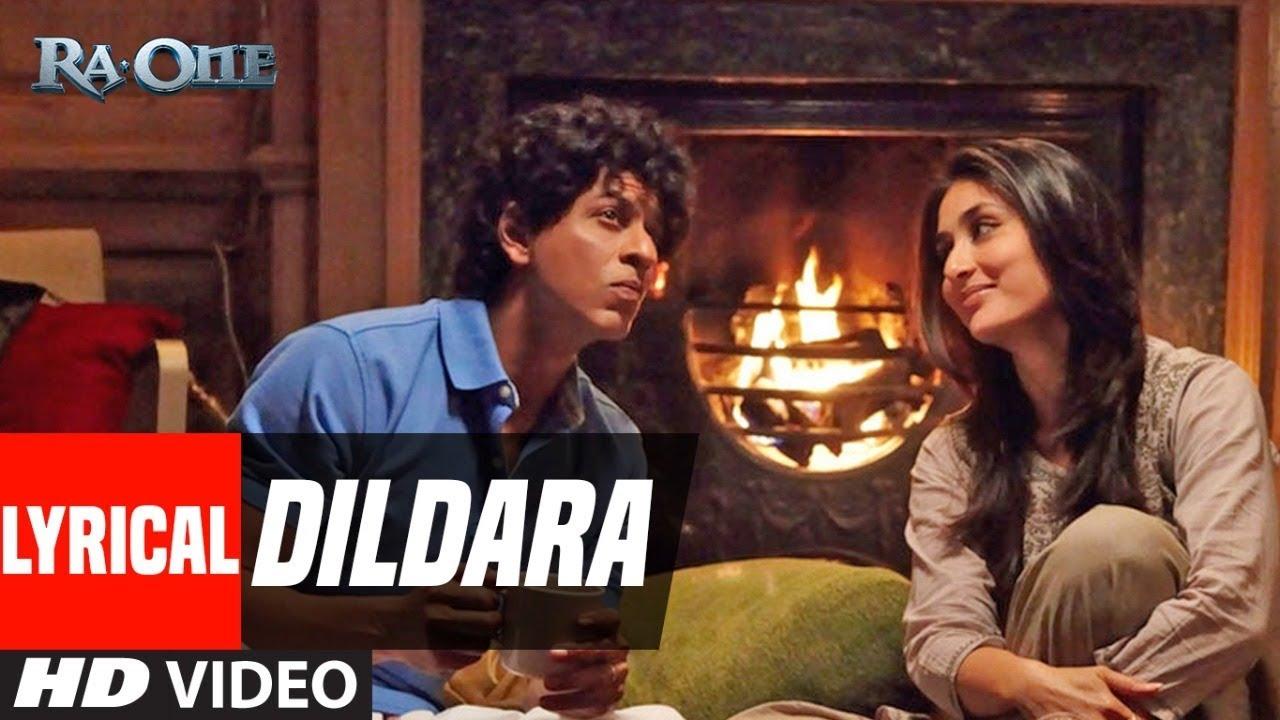 Download Lyrical Video: Dildara Song | Ra.One | ShahRukh Khan, Kareena Kapoor