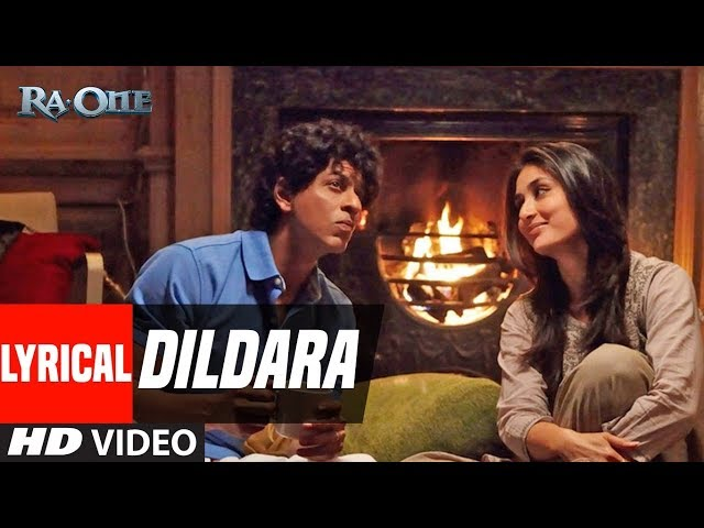 Lyrical Video: Dildara Song   Ra.One   ShahRukh Khan, Kareena Kapoor