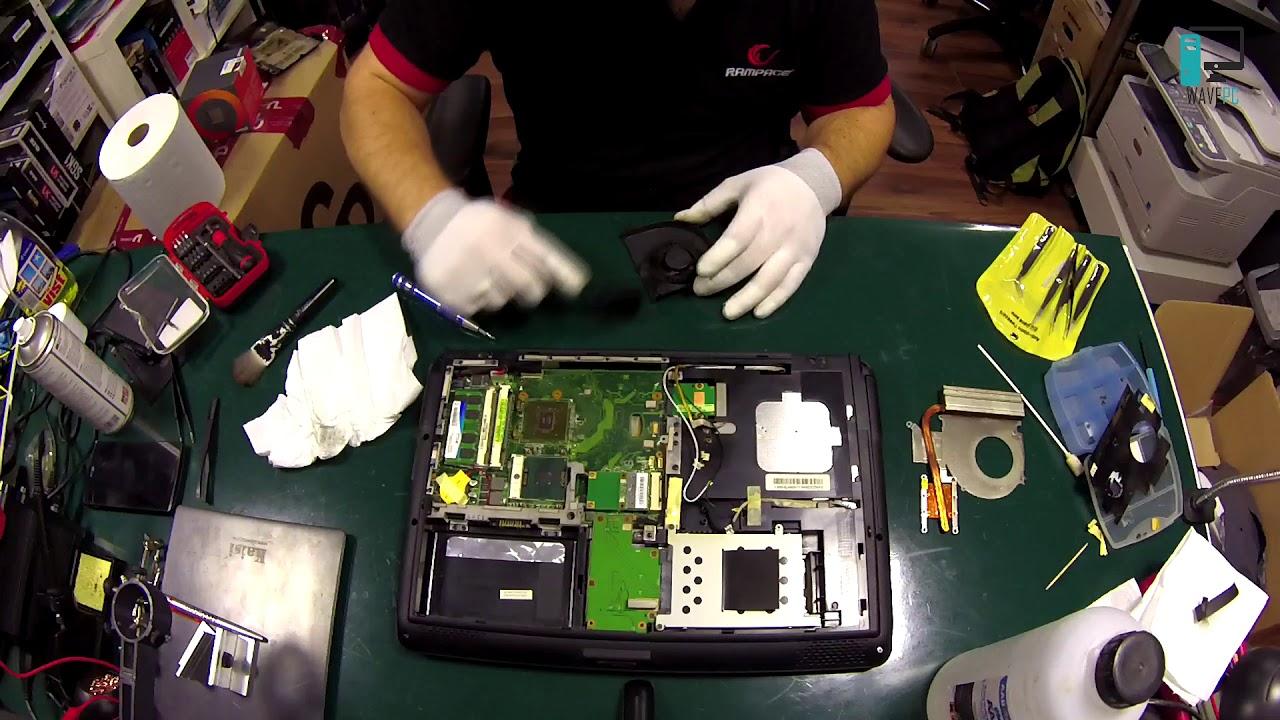 Czyszczenie laptopa Asus