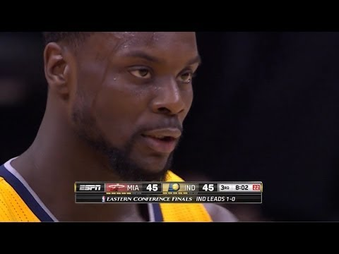 Lance Stephenson Full Highlights 2014 ECF G2 vs Heat - 25 Pts, 7 Assists