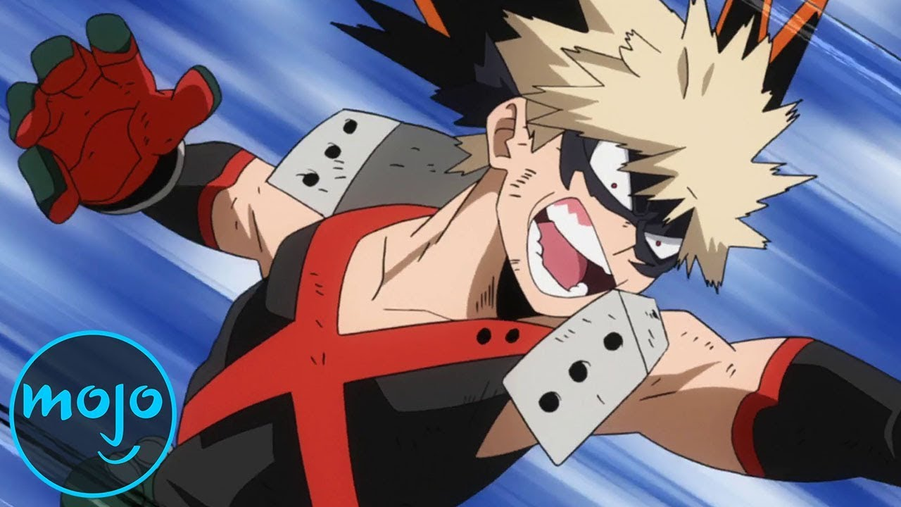 Top 10 My Hero Academia Fights Ft The Voice Of Bakugo Clifford Chapin Youtube