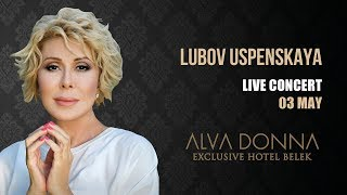 LUBOV USPENSKAYA Alva Donna Exclusive Belek
