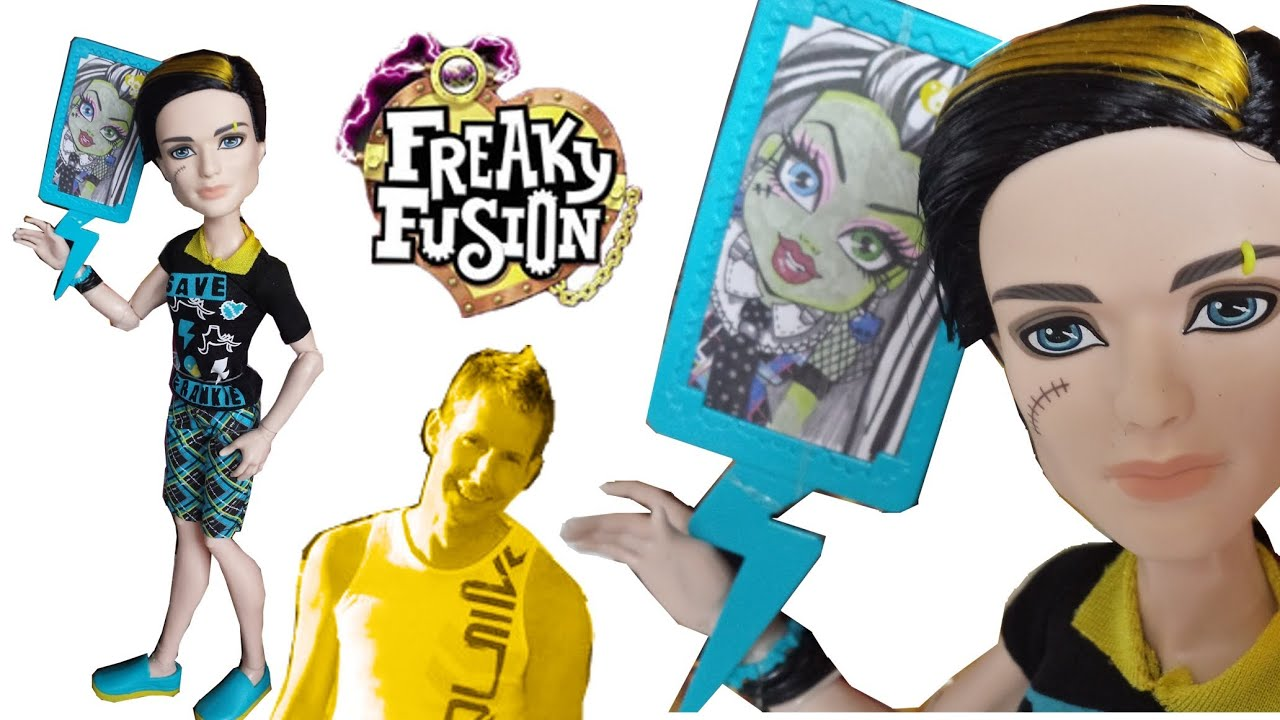 Freaky fusion jackson jekyll save frankie monster high - Monster high jackson ...