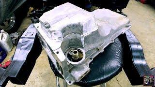 "LS Truck Oil Pan Shortened 1.5""   Chopped Pickup Tube + EDM Cut Oil Sump Welding (budget turbo s10)"