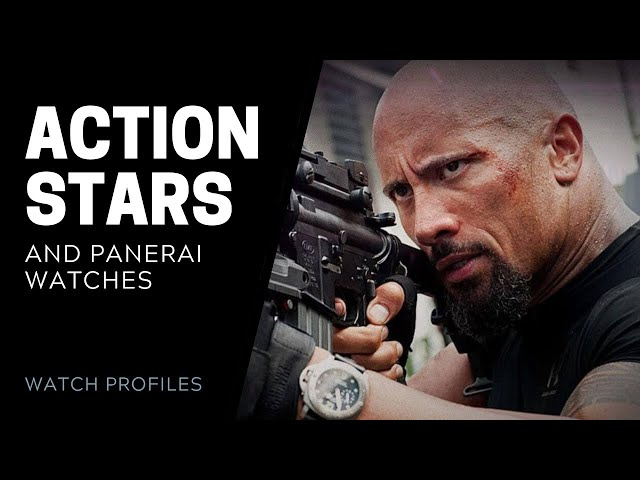 Panerai Watches and Action Stars | SwissWatchExpo [Panerai Watches]