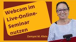 Tipps für Webinar-Trainer: Unterschiedlicher Einsatz der Webcam in Webinaren