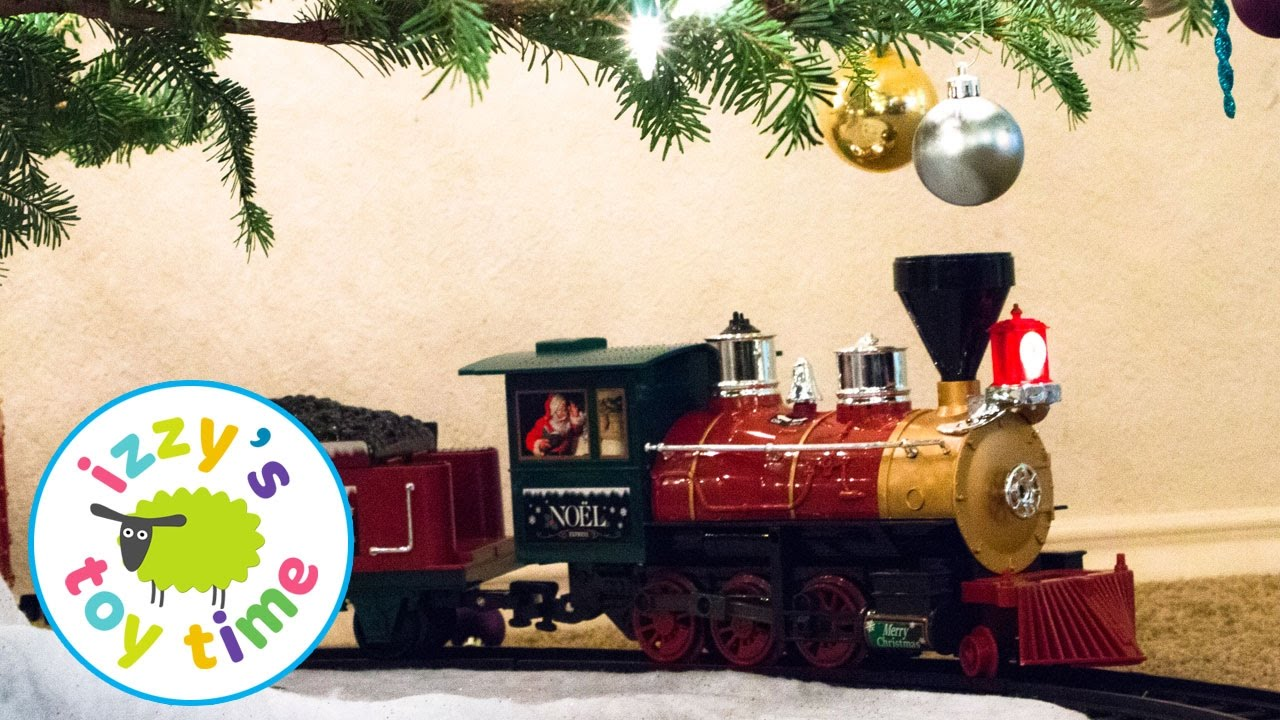 toy trains for kids christmas tree train with army men fun toy trains for kids youtube