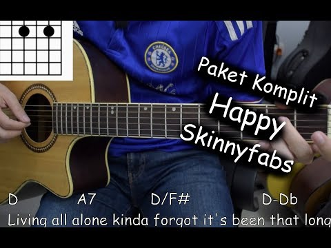 Belajar Gitar (Happy - Skinnyfabs)