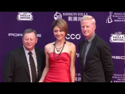 Red Carpet and Opening Ceremony - Mission Hills World Celebrity Pro-Am 2012