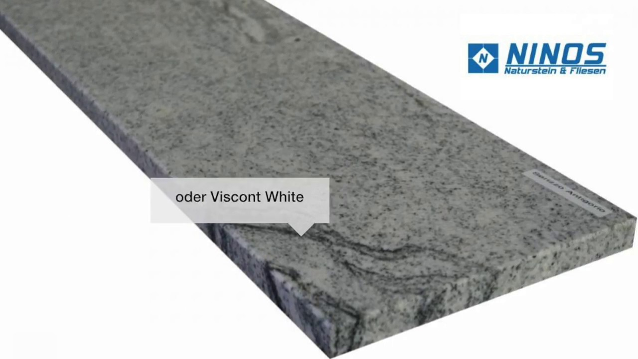 Granit Fensterbank | Fensterbänke online kaufen - YouTube