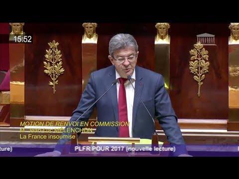«IL FAUT RÉGLER LA QUESTION DE LA DETTE» - Mélenchon