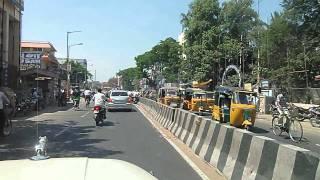 Mahindra Marshal: Cruising through Kanchipuram City during rush hour