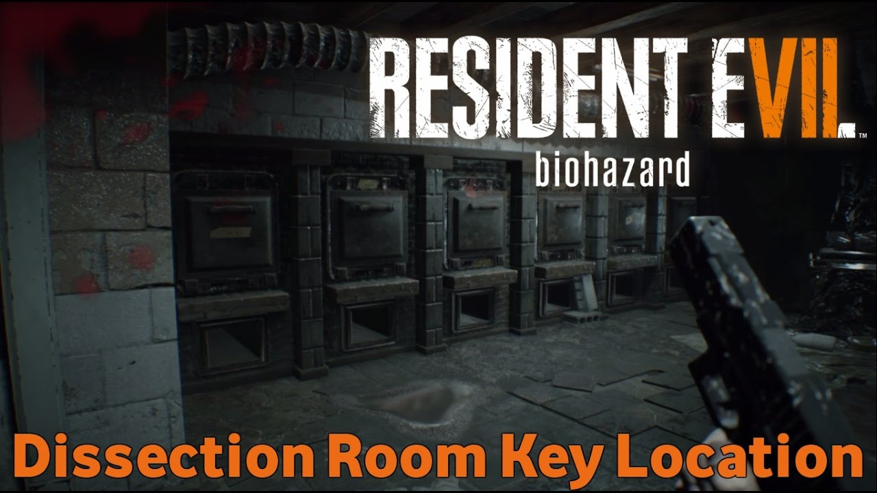 Resident Evil 7 Biohazard Dissection Room Key Location