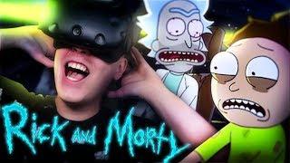 ZOSTAŁEM TATĄ!   [odc. 3]   Rick and Morty: Virtual Rick-ality (HTC Vive VR)