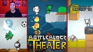Race to Your Death!   Sportsball SHUTOUT! (BattleBlock Theater Multiplayer)
