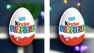 Asmr ~ Opening Two Kinder Surprise Eggs * Tingles * Crinkles, Shaking, Rattling