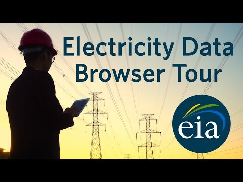 EIA's Electricity Data Browser Tour