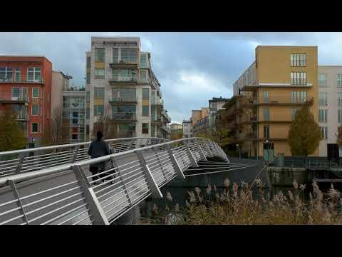Hammarby Sjöstad Stockholm 171104 UHD 4K