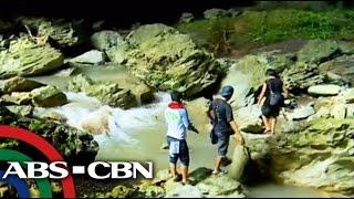 Mini underground river in Quezon, Palawan
