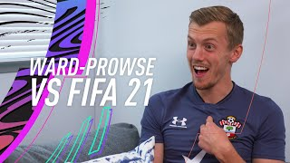 James Ward-Prowse reacts to being the BEST free-kick taker in the Premier League! | vs FIFA 21