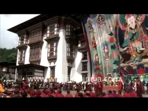 People of Jakar and Kurjey , Bhutan