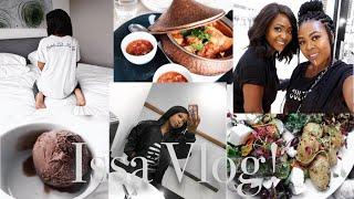 Issa Vlog: WAKANDA FOREVER!   valentines surprise dinner   Thandi Gama