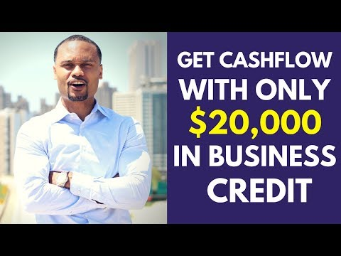 How you can get cashflow with only $20,000 in business credit