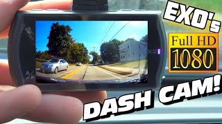 EXO's 1st DASH CAM w/ New Car Audio GOODIES For Our BEST Road-trip of 2016! (60 FPS HD Camera Test)
