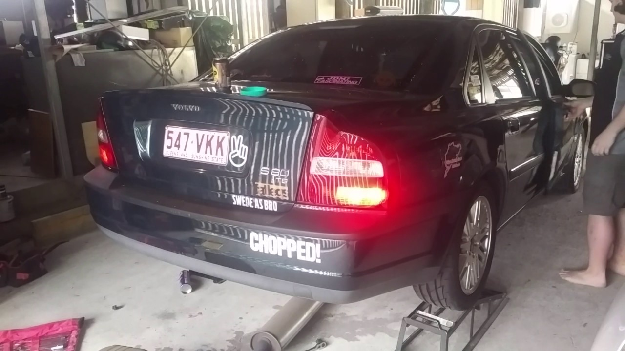 1999 volvo s80 t6 no exhaust sound youtube. Black Bedroom Furniture Sets. Home Design Ideas