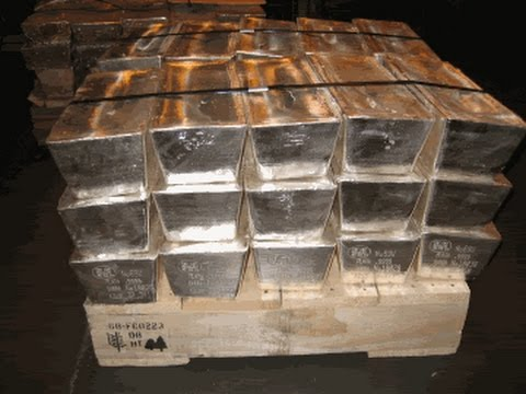 500 Ounces Full Silver Stack Youtube