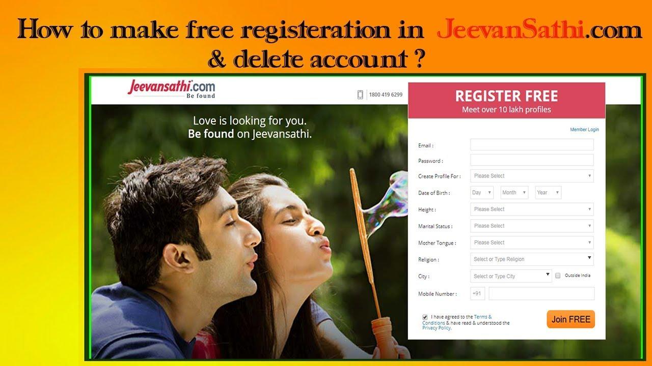 Jeevansathi register