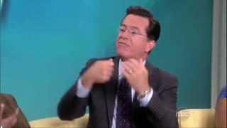 Stephen Colbert Walks Off!   the View