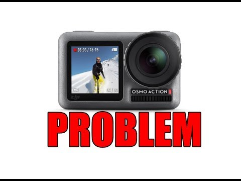 DJI OSMO ACTION CAMERA PROBLEM - LOST SATELLITES WITH GARMIN EDGE BIKE COMPUTERS